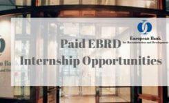 Оплачиваемые стажировки в ЕБРР